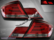Red / Clear  LED Tail Lights for 2013-2015 Honda Civic 4Door Sedan