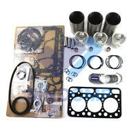 Isuzu 3KC1 980CC Engine Rebuild Kit For Nissan Mini-Excavator Skid Steer Loader