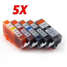 5 Ink PGI520 CLI521 for CANON MP540 MP550 MP560 MP630 MP640 MX870 iP4600 Printer