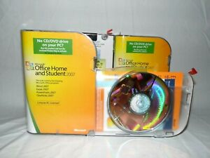 Microsoft Office Home and Student 2007 three sets only one open license