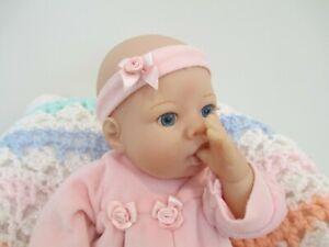 Adorable Original Lee Middleton Vinyl & Cloth Baby Doll, by Reva, 2000