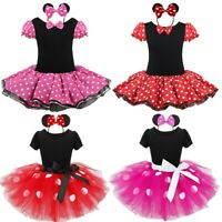 Girl Baby Toddler Princess Fancy Tutu Dress Outfit Party Cosplay Costume Clothes