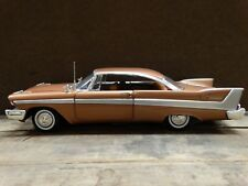 Ertl American Muscle 1958 Plymouth Belvedere Model 1:18 Scale Diecast Car