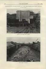 1922 Petroleum Spirit Dock On Manchester Ship Canal Photographs Structuring Entr