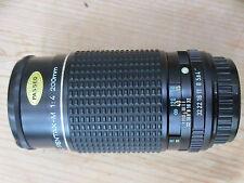 Film f/4 Camera Lenses for Pentax