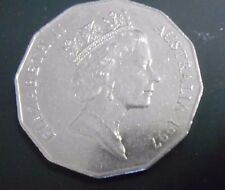 1997 Australian 50 cent Coin Low Mintage 50c Scarce coin