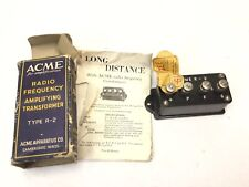 New ListingNos Acme For Amplification Radio Frequency Amplifying Transformer R2 1920s