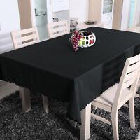 Tischdecke ORNAMENTE Ranken-Eckig Oval Rund Tisch Stoff Bügelfrei Mehrfarbi H4F8