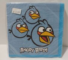 DesignWare Small Beverage Napkins 16 Count 2 Ply Angry Birds Birthday Party