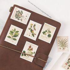 45pcs/box Mini  Plants Stamp Paper Sticker Decor DIY Diary Scrapbooking Sticker