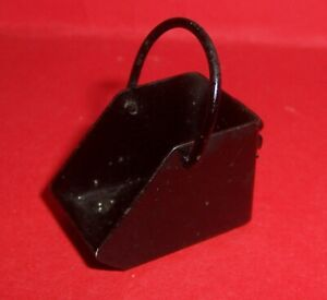 VINTAGE DOLLS HOUSE 1950's EARLY BARTON METAL COAL SCUTTLE 16th  LUNDBY SCALE