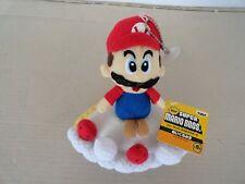 """banpresto Super Maro bros. mario on cake plush  w/tag ufo catcher prize 7"""""""