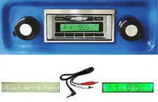 1967-1972  Chevy Truck Radio Free Aux Cable AM FM Stereo 230