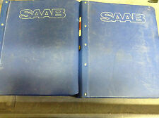 1979 1980 1986 1989 Saab 900 Service Repair Shop Manual Set BINDER OEM Saab900