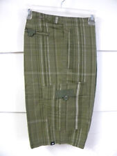 Nike sz XL Checked Men's Cotton Shorts  NEW  $50 378814-301  Greens w White