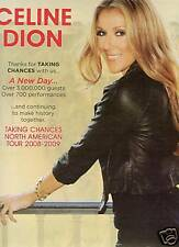 Celine Dion Promo 00006000  Poster Ad Taking Chance North America