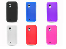 LCD Guard + Soft Silicone Case for Samsung Fascinate / Mesmerize / SCH-I500 i500