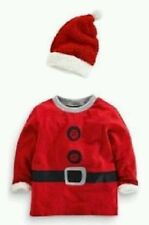 Next Santa suit top and hat musical nwts baby boys age 12-18 months
