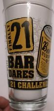 21 Bar Dares~BEER Pint Glass~Finally 21 Challenge~iPartyHard~EUC~Ships FREE