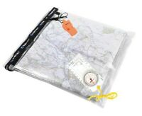Blue Mountain Dry Weatherproof Map Case, Compass and Whistle Set