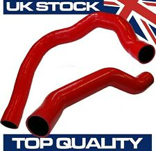 Alfa Romeo 147 156 1.9 JTD Top and Bottom Turbo Intercooler Silicone Hoses - Red