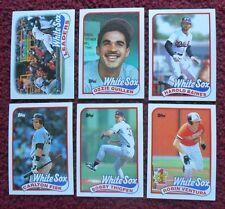 1989 Topps Chicago White Sox Baseball Team Set (31 Cards) ~ Robin Ventura FISK +