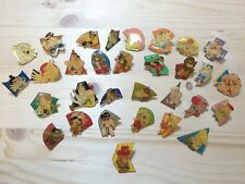 RARE CAPCOM Street fighter&Street fighter II Pins badge 31 pieces sets Japan