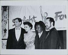 Howard Davine, Emma Samms, Whoopi Goldberg, Peter Samuelson ORIGINAL PHOTO