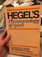Phenomenology of Spirit by G. W. F. Hegel (1979, UK-Paperback)