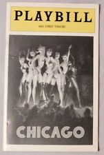 CHICAGO PLAYBILL 46th Street Theatre March 1977