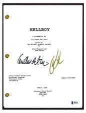 Guillermo Del Toro & Ron Perlman Signed Autographed Movie Script Beckett BAS COA