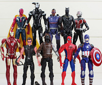 10pcs Marvel Avengers 3 Hero Action Figures PVC Cake Decor Topper Playset Toy