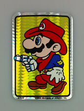 1990 VINTAGE NINTENDO SUPER MARIO BROS VIDEO GAME PRISM VENDING STICKER No 2