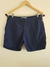 Mens Swim Shorts W34 Navy Orlebar Brown <EE4186