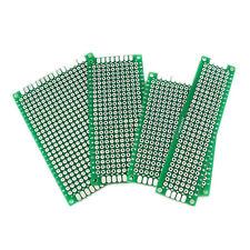20pc Double Side Prototype PCB BREAD BOARD Tinned Universal 5x7 4x6 3x7 2x8cm FR