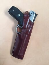 "Smith & Wesson S&W Victory SW22, and Model 41  5.5"" barrel leather holster #9513"