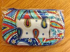 Vera Bradley Zip ID (Zip Clip) Case in Marina Paisley, New with Tags