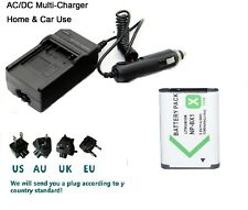 Battery +  Charger for Sony NP-BX1 Cyber-shot DSC-RX100M6 (RX100 VI)DSC-RX100M3