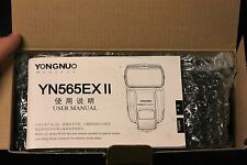 Yongnuo Digital YN565EX II Flash for Canon ETTL DSLR's