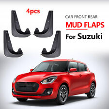 Front Rear Universal Mud Flaps Mudflaps For Suzuki Mudguards Splash Guards Ignis