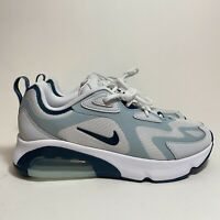 Nike Air Max 200 Women's Shoes Size 7.5 Pure Platinum/Midnight Turq CU4920 001