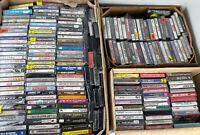 10 Random CASSETTE TAPES Lot - Mix of Rock - Pop - Metal 80s 90s Alternative