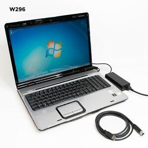 "HP PAVILION DV9000 17"" LAPTOP CORE 2 DUO T5250 4GB 500GB WIN 7 PRO WEB CAM H843"