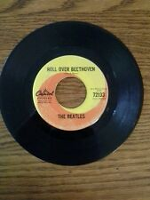 """THE BEATLES CAPITOL 72133 45RPM 7"""" PLEASE MISTER POSTMAN ROLL OVER BEETHOVEN VG"""