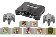 Nintendo 64 Konsole N64 + 2 Crontroller + Mario Spiele