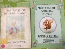 Beatrix Potter. The Tale Of Pigling Bland & The Tale Of Squirrel Nutkin