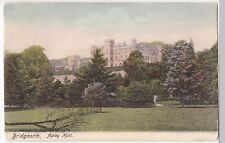 Shropshire; Bridgnorth, Apley Hall PPC Unposted, c 1910's, View From Gardens
