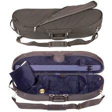 Bobelock 1047 Half Moon 1/2 Violin Case: Blue Velour Interior - FAST SHIPPING!
