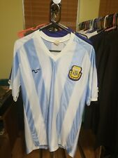 Argentina National Team Jersey Vintage Futball Soccer Jersey Afa Nolan Size 44