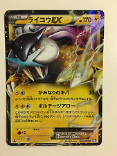 Pokemon Card / Carte Raikou EX 025/069 R BW4 1 ED -